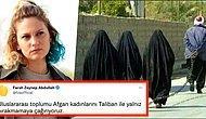 Farah Zeynep Abdullah Afgan Kadınların Taliban ile Yalnız Bırakılmaması İçin Tüm Dünyaya Çağrıda Bulundu!