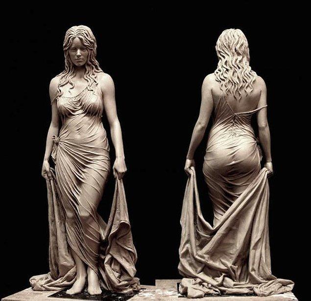 9. Benjamin Victor Bathsheba'nın elinden detaylarıyla büyüleyen bir heykel.