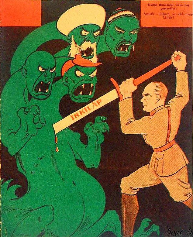 """Nitekim CHP'nin 14 Mayıs 1931'deki programında laiklik tarifi şöyledir: """"Fırka, devlet idaresinde bütün kanunların, nizamların ve usullerin ilim ve fenlerin muasır medeniyete temin ettiği esas ve..."""""""