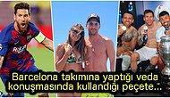 Messi'nin Gözyaşlarını Silmek İçin Kullandığı Peçetenin Satışa Çıkarıldığı Fiyat Dudak Uçuklattı