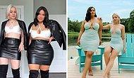 Две подруги показывают, как выглядят одинаковые вещи на разных типах телосложения (20 новых фото)