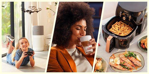 Tasarım ve Teknolojileriyle Beklentilerinizi Karşılayacak Philips Ev Aletleri