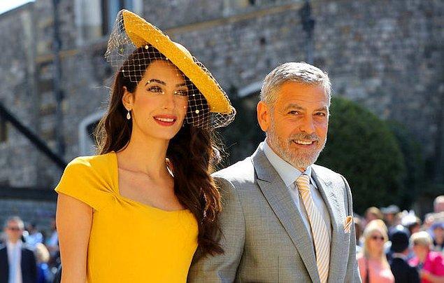 10. Amal Clooney ve George Clooney