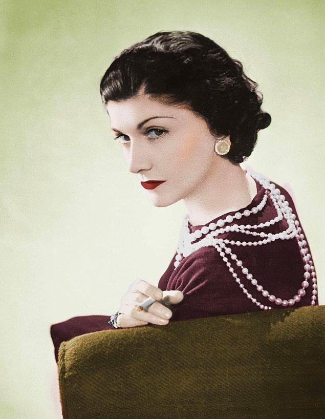 13. Coco Chanel'in incileri.