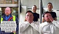 Лысеющий лондонский водитель автобуса не смог сдержать слезы, когда увидел себя с протезом волос