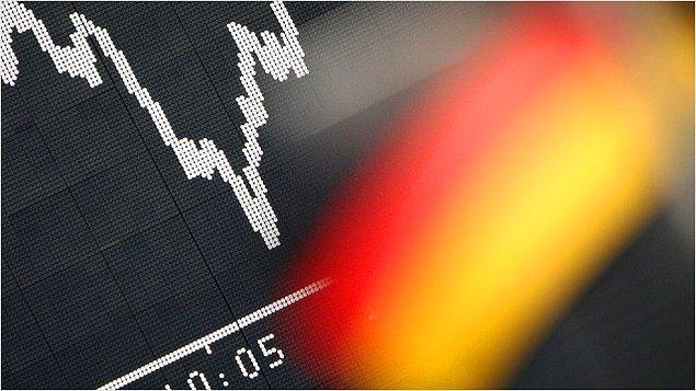 Almanya'nın gayrisafi milli hasılası 3.3 trilyon euro: Avrupa'nın en büyük ekonomisi.