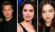 Искусственный интеллект показывает, как бы выглядели дети знаменитостей (15 новых фото)