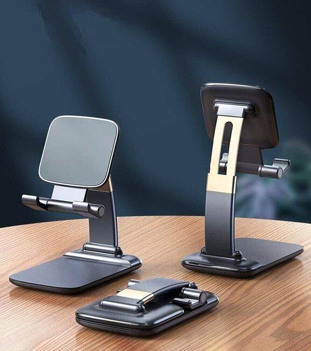 5. İşinizi kolaylaştıracak telefon ve tablet tutucular için; 👇