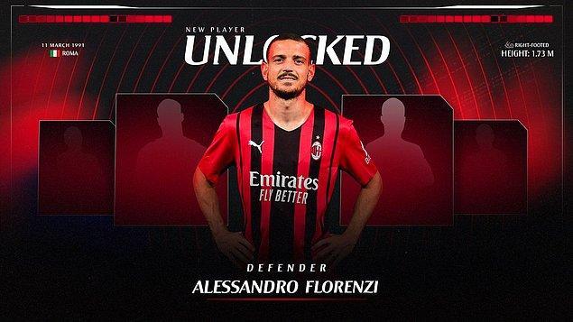 21. Alessandro Florenzi