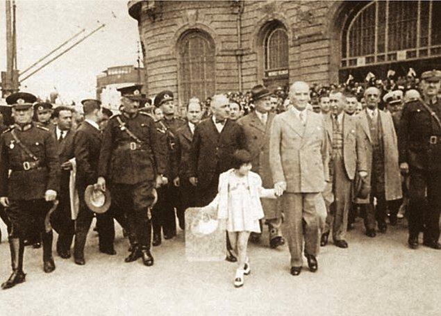 7. 28 Ağustos 1938, Genelkurmay Başkanı Mareşal Fevzi Çakmak'ın telgrafına cevabı: