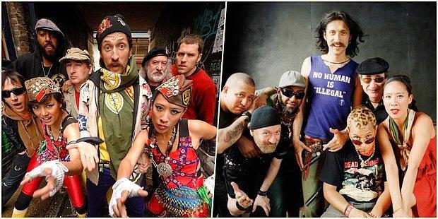 Roman Punk Tarzlarıyla Bildiğimiz Gogol Bordello'dan 15 Evlere Şenlik Performans