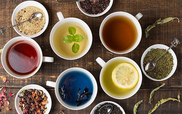 9. Bitki çayı