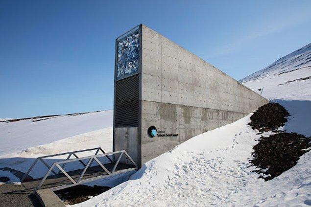 4. Svalbard Küresel Tohum Deposu (Norveç)