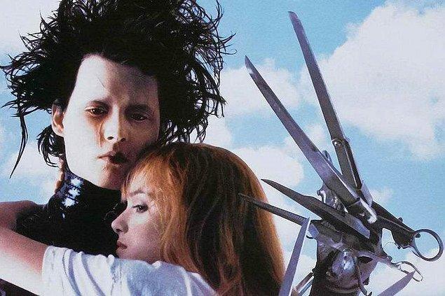 4. Johnny Depp ve Winona Ryder - Edward Scissorhands (1990)
