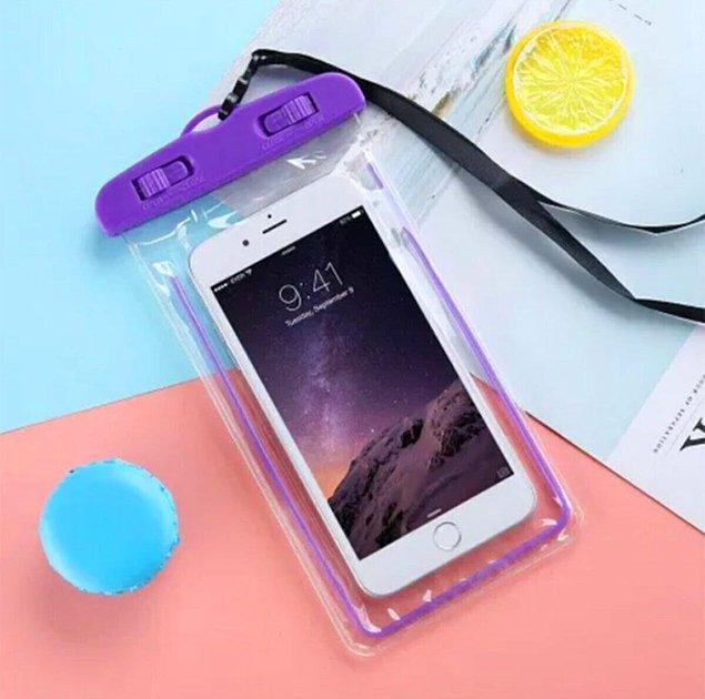 12. Cep telefonlarının su geçirmezliğine asla ikna olmayanlar...