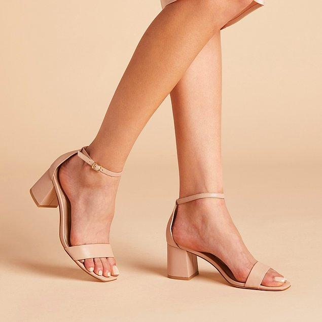 2. Sade ayakkabılar.