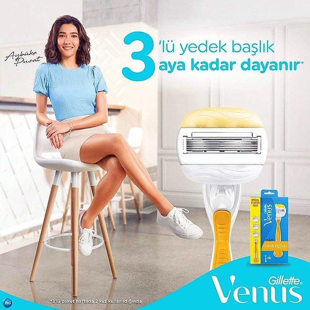 13. Gillette Venus, jiletlerin kraliçesi desek abartmış olmayız... Cildinizi yumuşacık yapan, acıtmayan, tahriş etmeyen harika bir ürün.