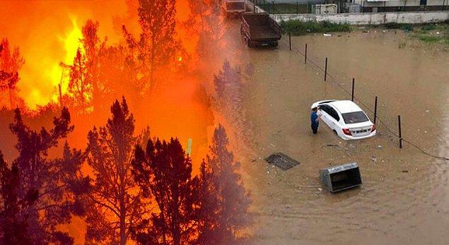 Bir tarafta yangınlar bir tarafta sel felaketi derken ağustos ayı hepimizi feci şekilde yıpratmıştı.