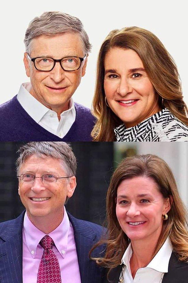 Hatta Bill Gates ve eski eşi de aslında onlar değilmiş 😱