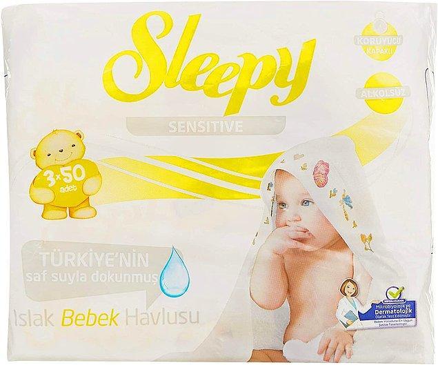 12. Islak mendil, bebekli her evin baş tacıdır.