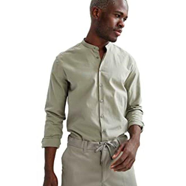 19. Beyleri de unutmadık. Defacto hakim yaka gömlek ehem uygun fiyatlı hem de çok şık bir parça.