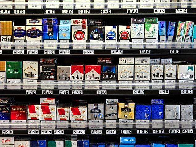 3. Dünyada her dakika yaklaşık 10 milyon sigara satılıyor.