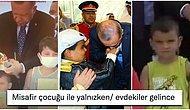 Cumhurbaşkanı Erdoğan'ın Kurdeleyi Erken Kesen Çocuğun Kafasına Vurmasına Gelen Mizah Dolu Yorumlar