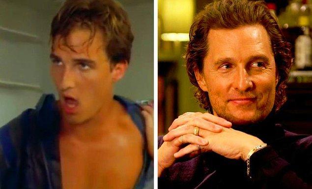 5. Matthew McConaughey: Unsolved Mystery (1992) — The Gentlemen (2019)