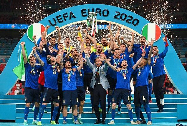 7. Euro 2020 şampiyonluğu 🏆