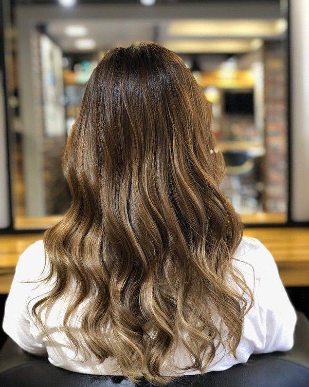 Saçlarına ışıltı attırmalısın!