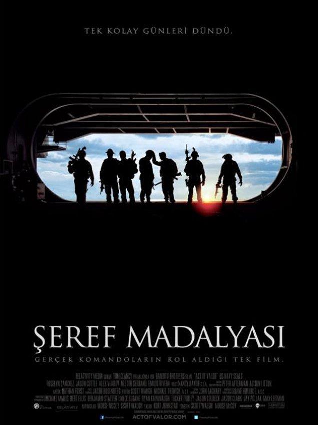 14. Act of Valour / Şeref Madalyası (2012) IMDb: 6.5