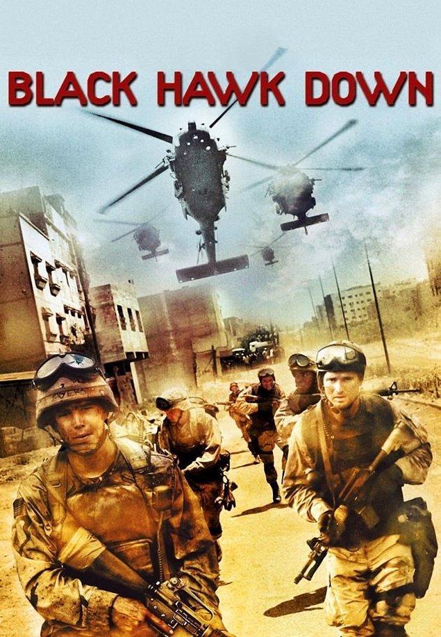 3. Black Hawk Down / Kara Şahin Düştü (2001) IMDb: 7.7