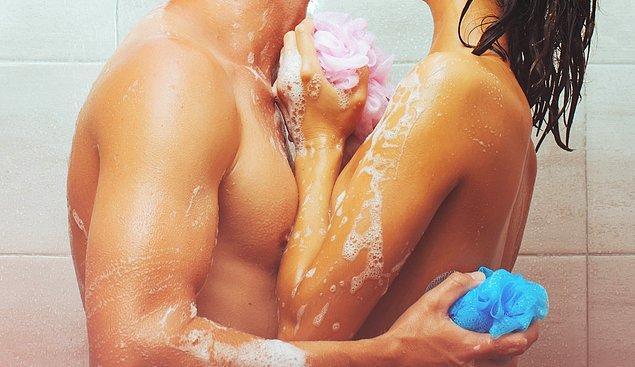 6. Duşta seks sence kötü bir deneyim mi?