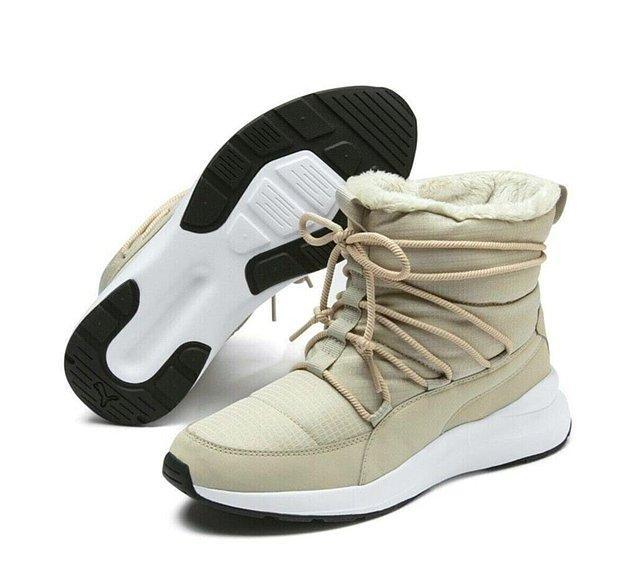 3. Puma bot modelleri ile ayaklarınızı tüm kış sıcacık tutun.
