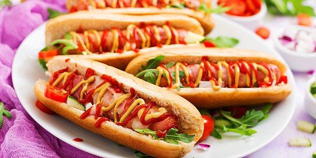 Sosisli sandviç: 36 dakika