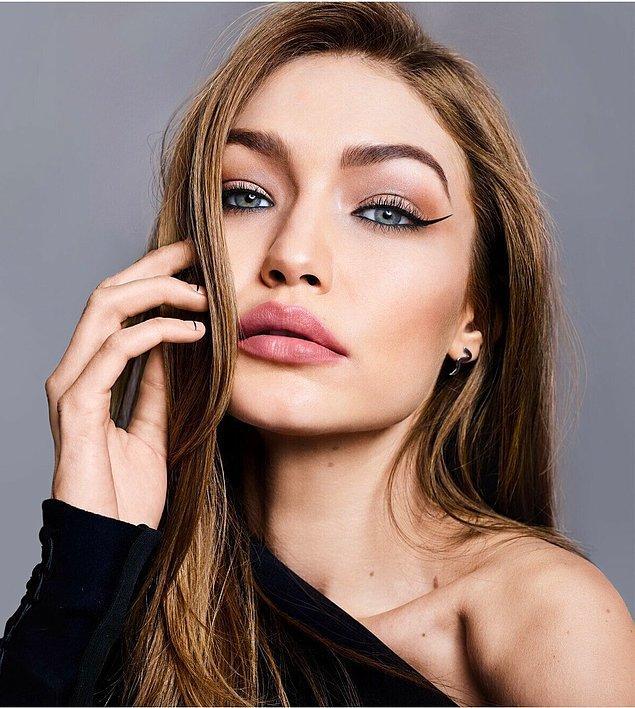 3. Gigi Hadid güzelliğini tartışmayalım bile!