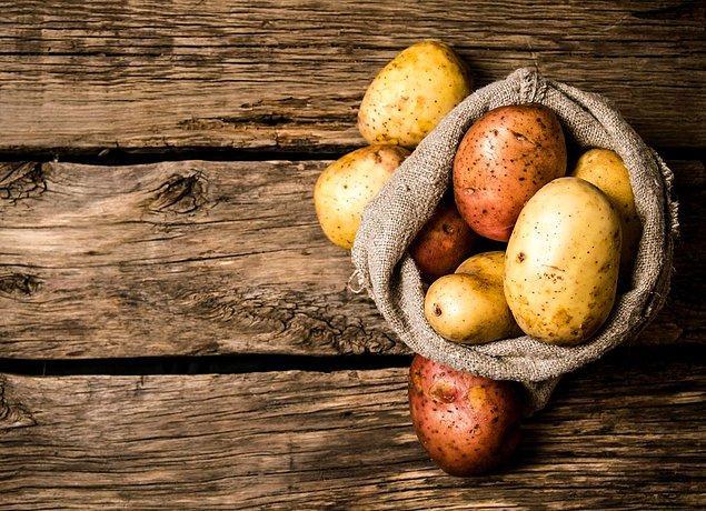 1. Patatesin cinsi önemli.