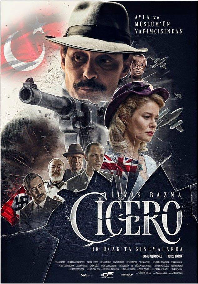 12. Çiçero (2019) - IMDb: 6.6