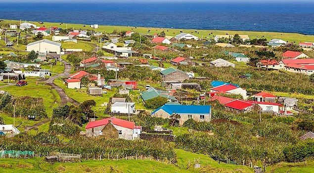 3. Tristan da Cunha