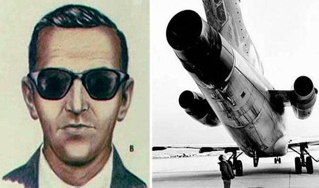Uçak Kolumbiya Nehri üzerinden geçerken paralar ve dört paraşütle uçağın arka kapısından atlayan Cooper, günümüzde hala bulunabilmiş değil.