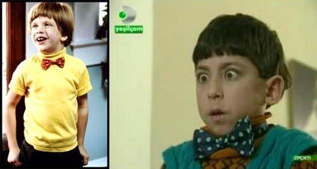 """7. """"Problem Çocuk"""" Türk versiyonu """"Zıpçıktı"""", 1995 yılında çekilmişti."""