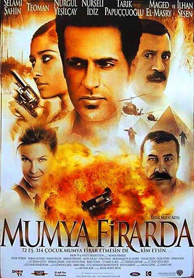 """9. """"Mumya Firarda"""", o dönem büyük yankı uyandıran """"Mummy"""" serisinden fena halde etkilenmiş bir filmdi."""