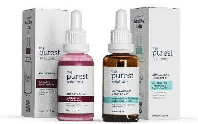 3. The Purest Solutions cildinize istediğiniz bakımı yapsın.