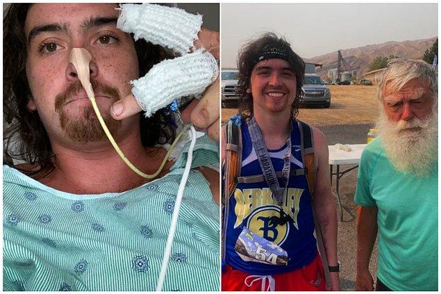 """3. """"Doktorlar geçirdiğim kaza sonrasında yürümemin bir mucize olduğunu söylemişti ve bugün maratona katıldım."""""""