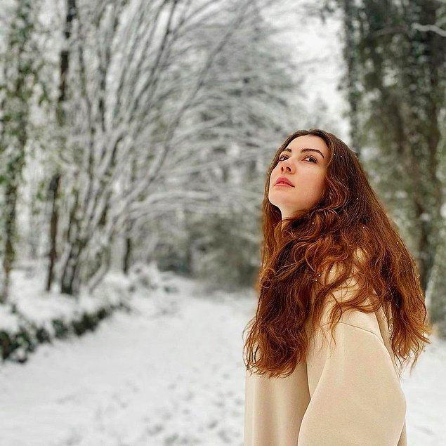 Bir de karlı fotoğraf olsun!