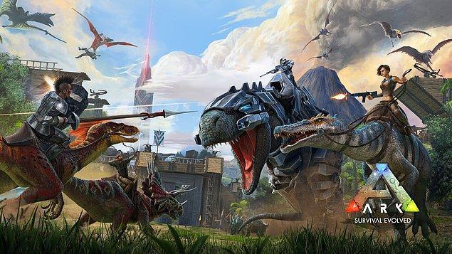 10. Ark: Survival Evolved