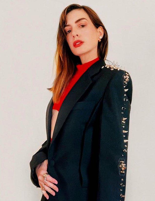 8. Anne Hathaway: