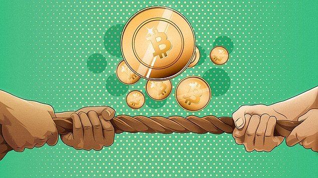 Bitcoin'de toparlama çabası sürüyor.