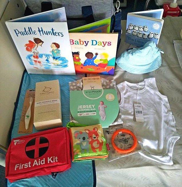 10. Yeni ebeveynlere verilen ücretsiz set...