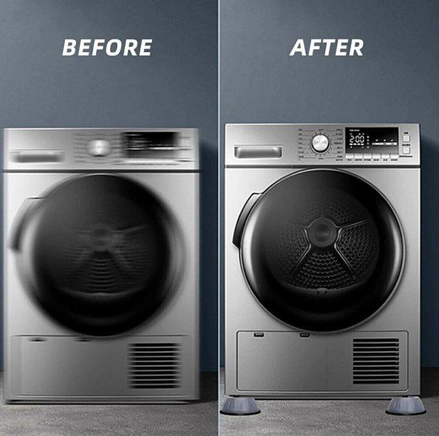 5. Evde yürüyen bir çamaşır makineniz mi var?
